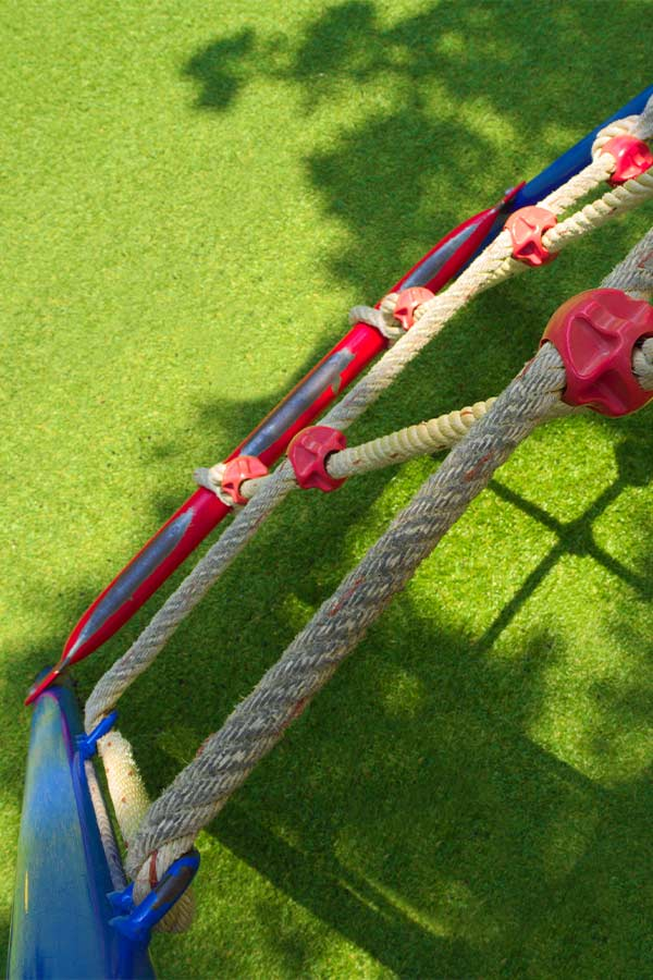 Synthetic Grass for playgrounds in Fort Worth